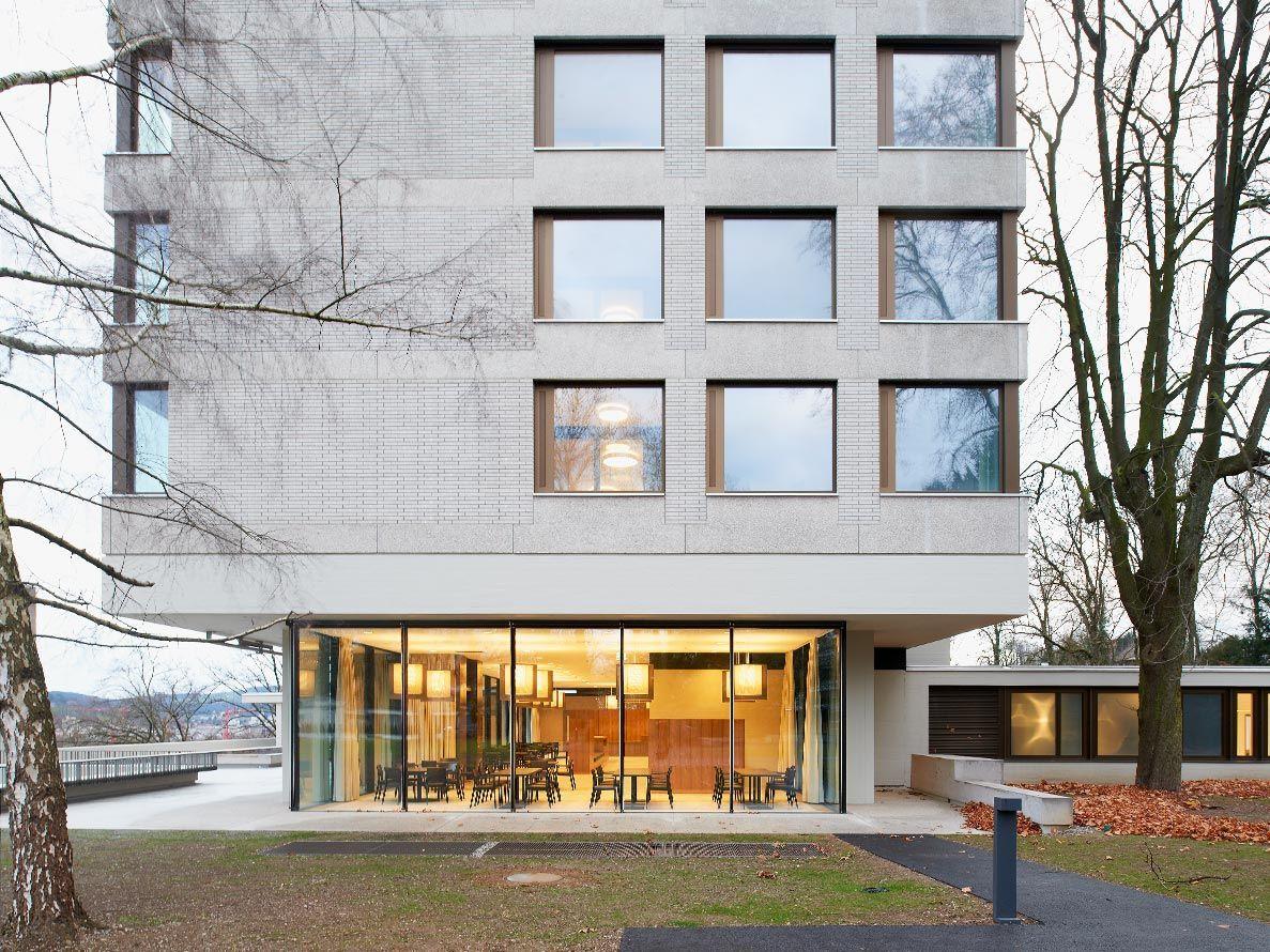 Architekt Emsdetten instandsetzung und umbau pflegezentrum bombach zürich zh