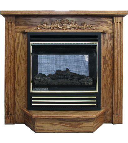Direct Vent Gas Wood Stove