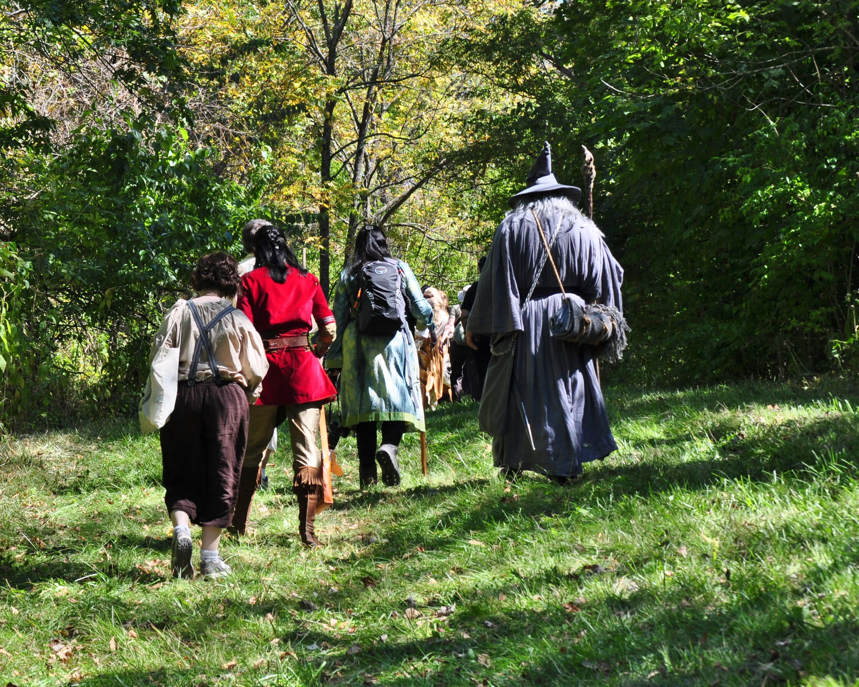 The Fellowship of the Ring ala AL3P 2014. Shaker Village, KY