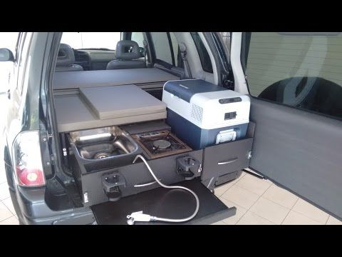 7 4x4 Micro Camper Chevrolet Tracker Suzuki Grand Vitara Youtube Micro Camper Suv Camper Grand Vitara