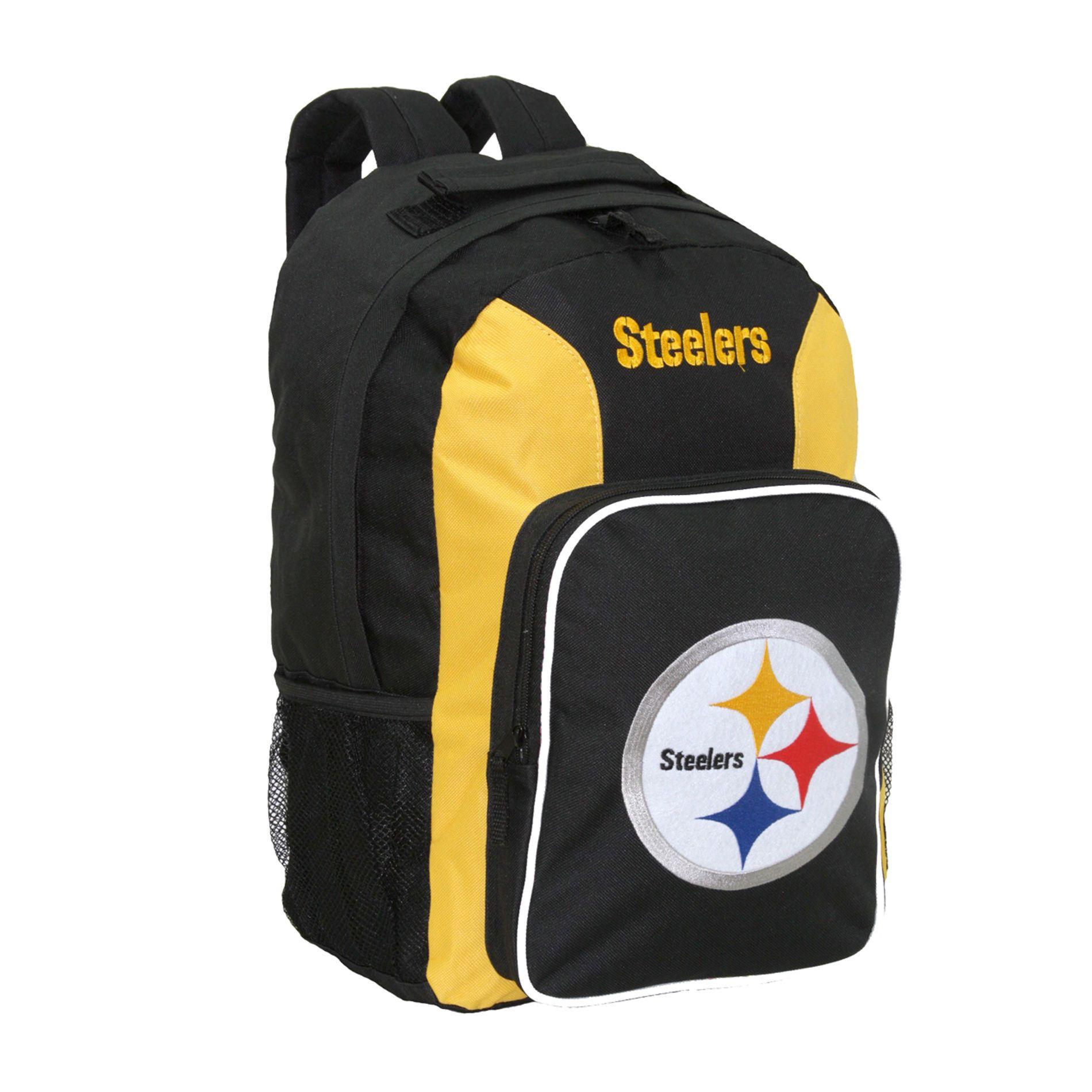 concept refurbished nfl pittsburgh steelers team logo backpack - Pittsburgh Steelers Merchandise