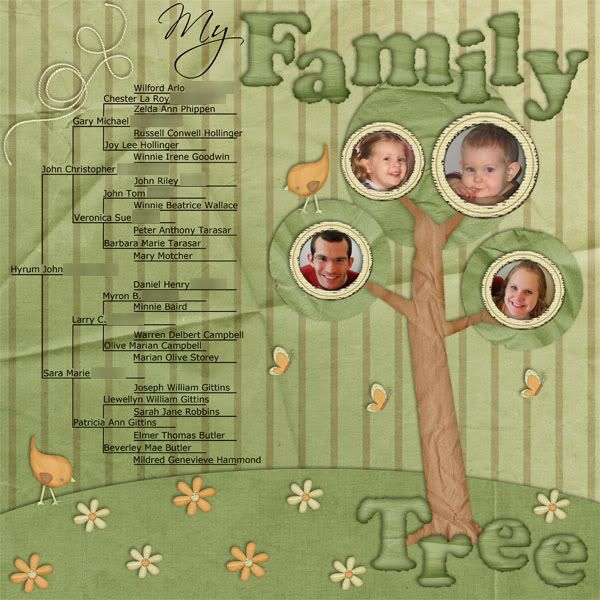 family tree scrapbook page picture book page ideas pinterest