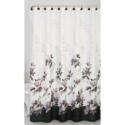 Lenox 194 174 Moonlit Garden Shower Curtain Bedbathandbeyond Com Bed Bath Amp Beyond Garden Shower
