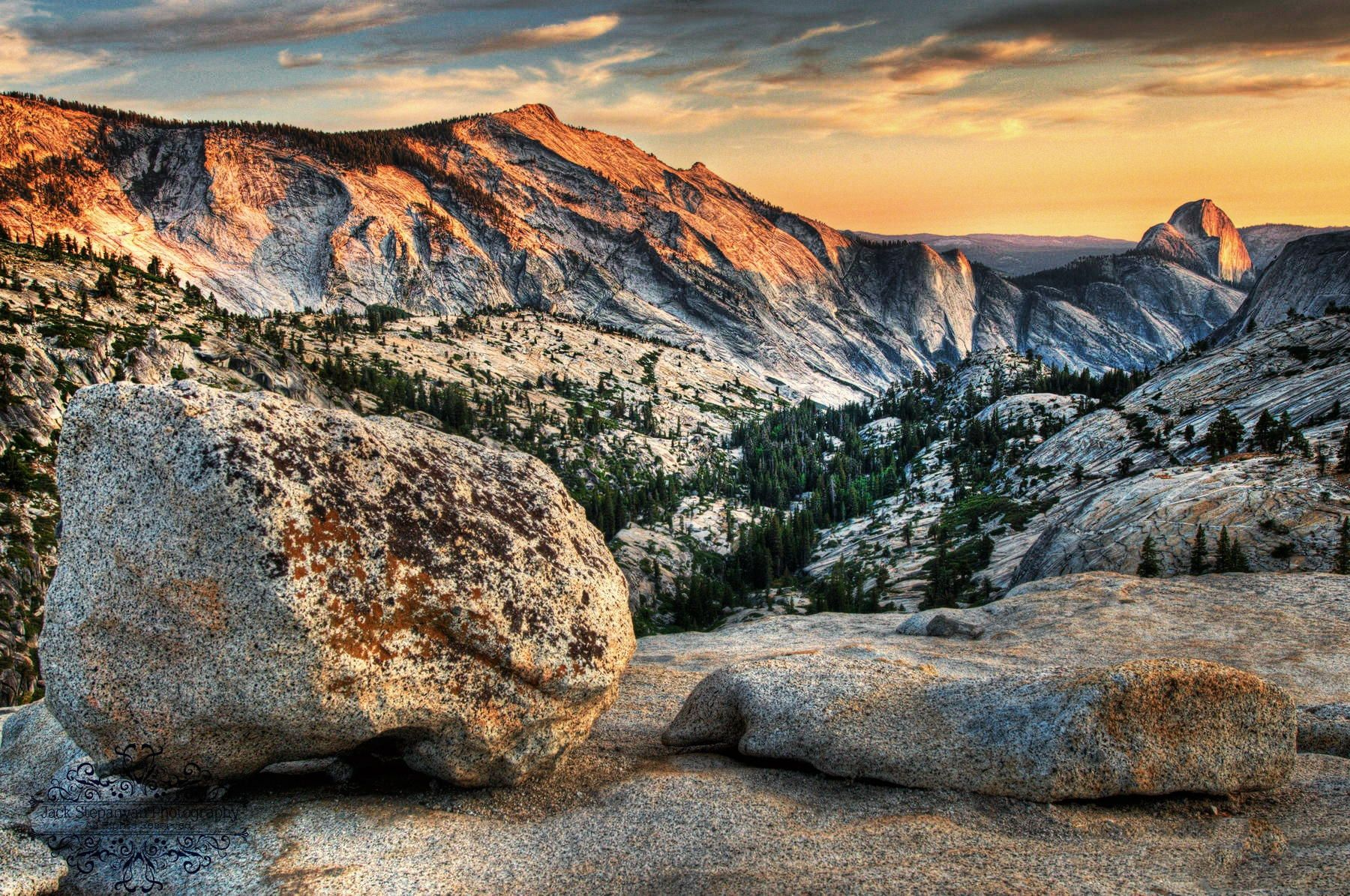 Olmsted Point , Yosemite National Park by Jack Stepanyan on 500px