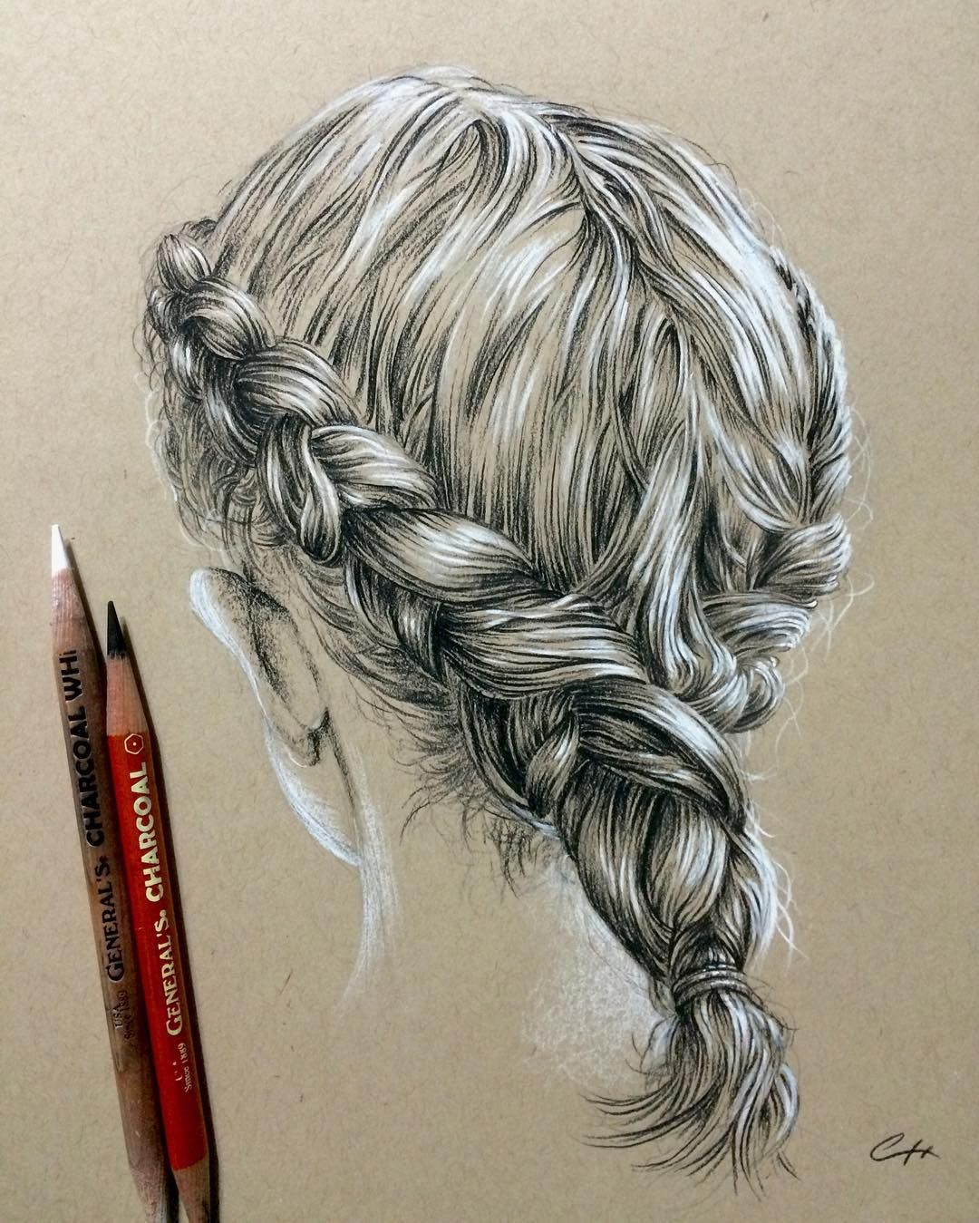 how to draw plaits hair