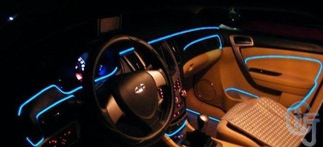 FREE SHIPPING CAR Flexible Neon Light 50pcs/lot 3M EL wire ...