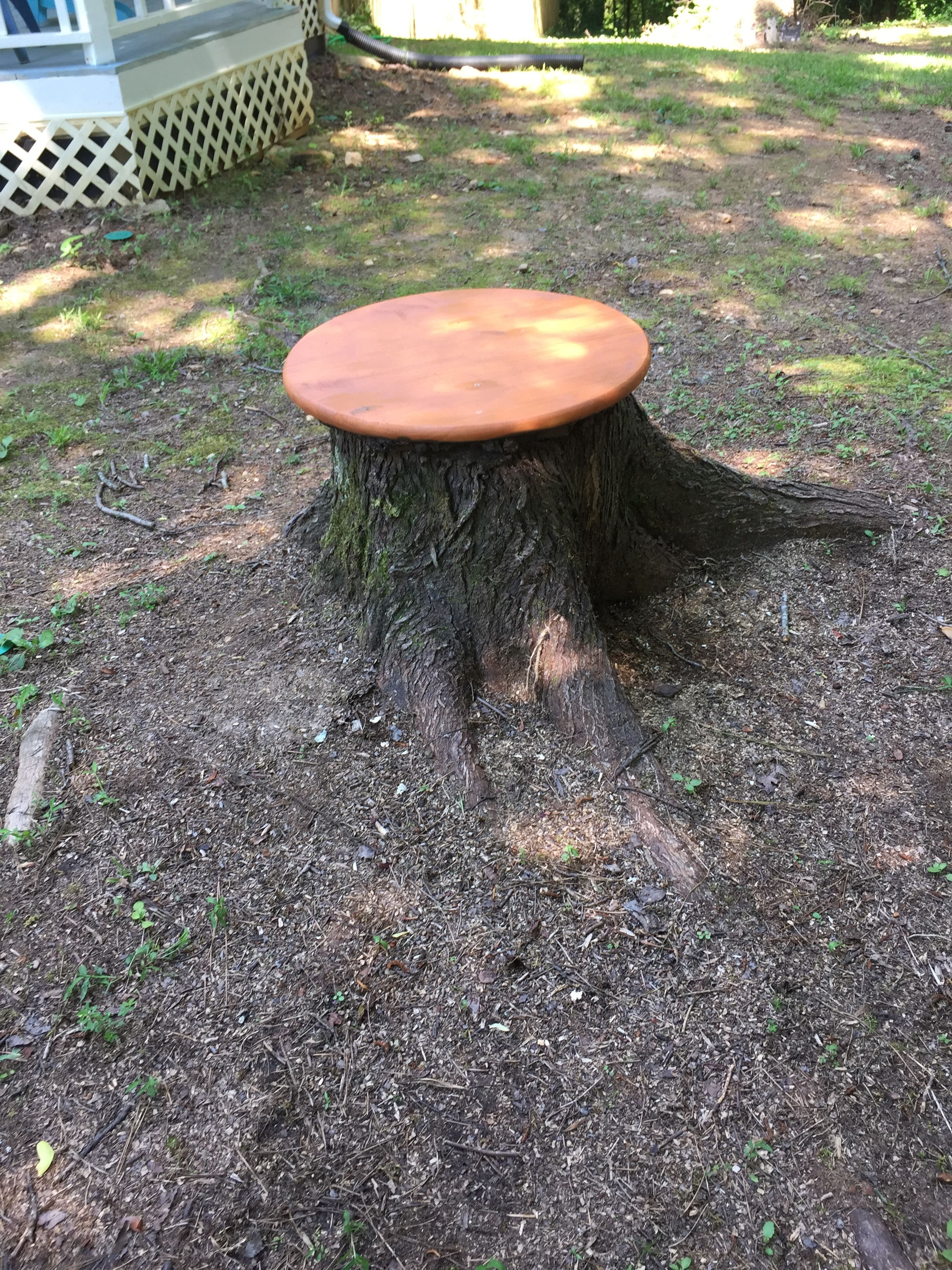Table From Stump
