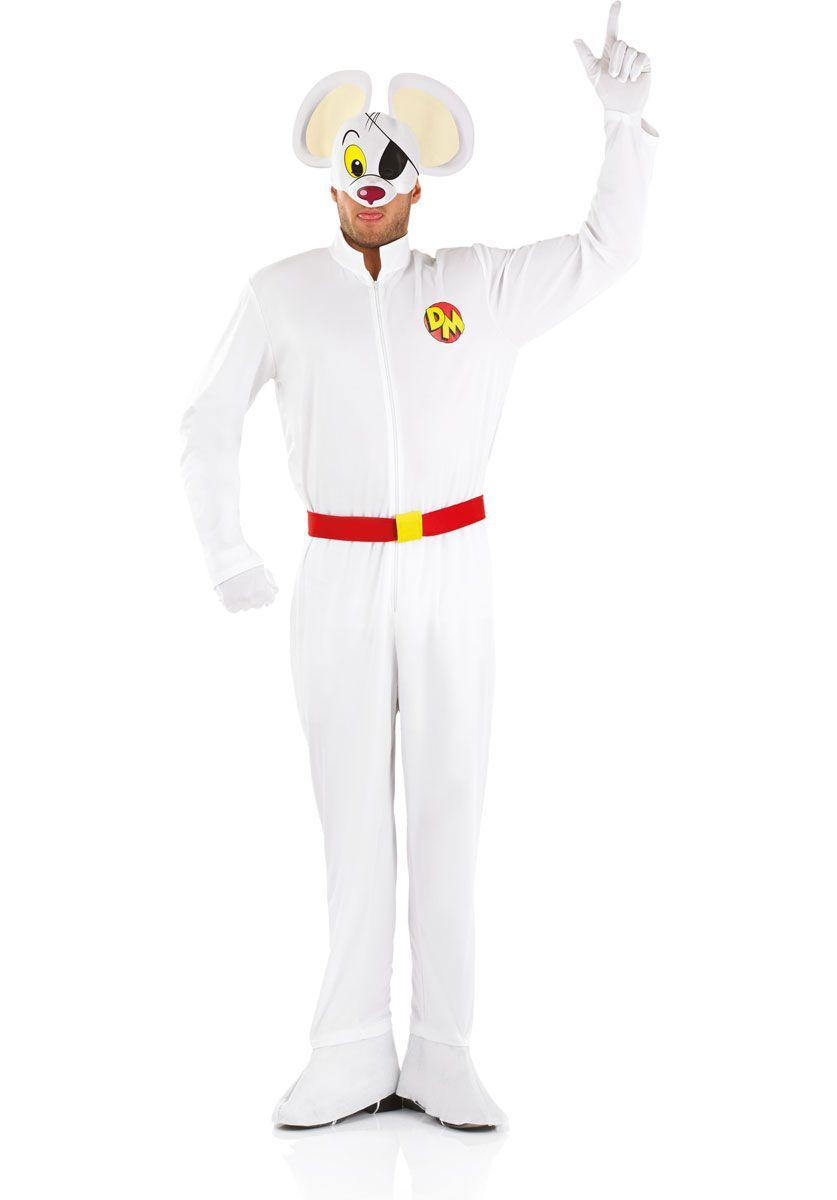 Elegant Classic Danger Mouse Costume   Superhero Costumes At Escapade