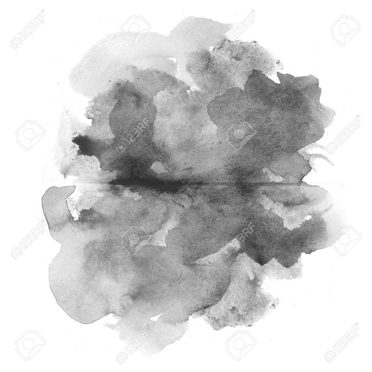 Black Watercolor Cerca Con Google Seni Bingkai Foto