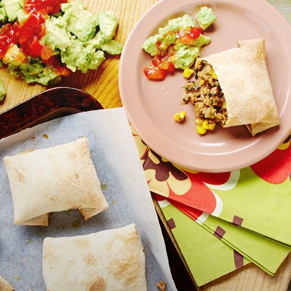plateful | Super Easy Beef & Cheese Chimichangas with Simple Guacamole