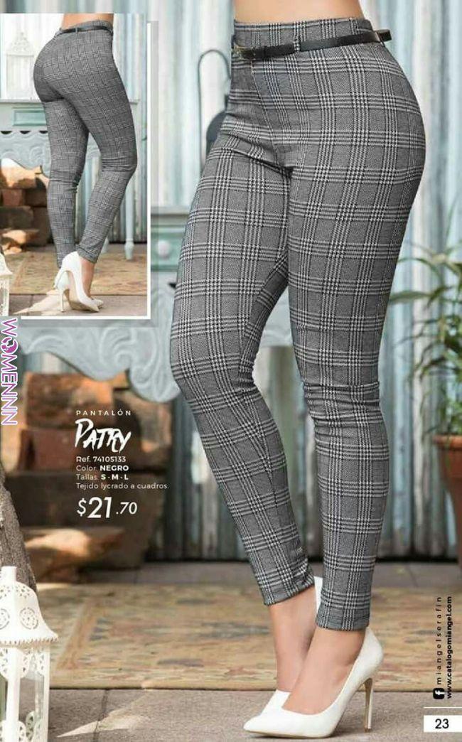 Para Oficina Pantalones De Moda Pantalones De Moda Mujer Pantalones De Vestir