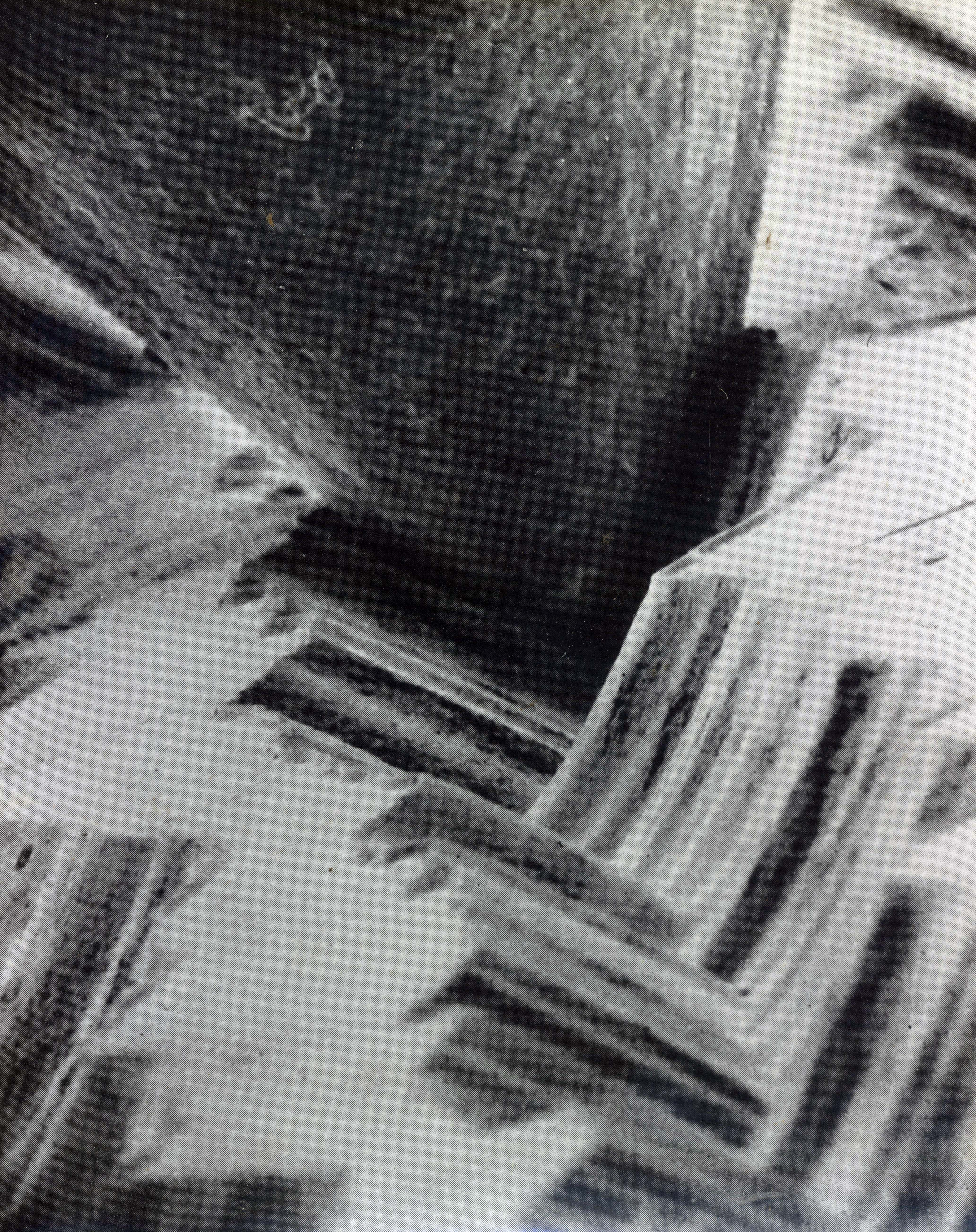 Microscopic View Of A Needle Playing On A Vinyl Record