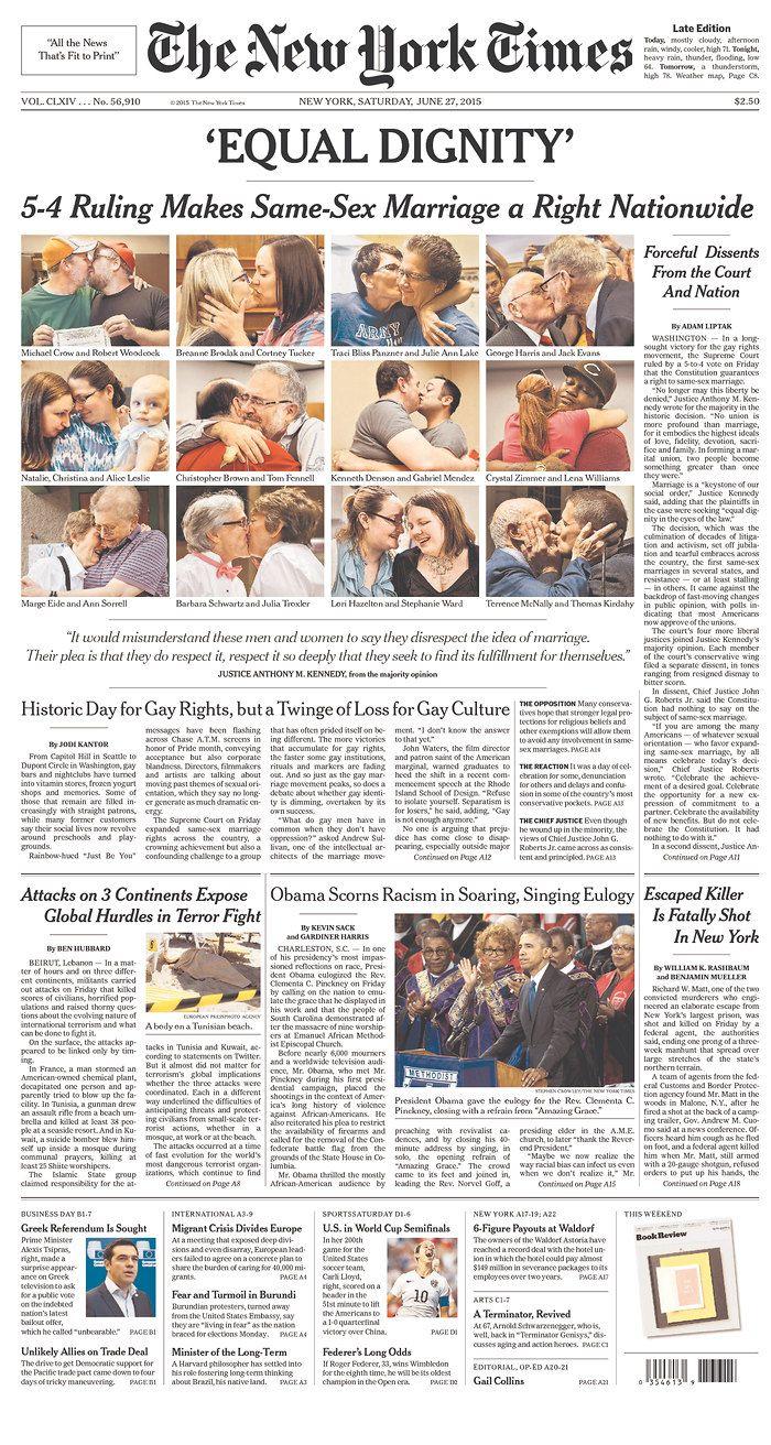 newspaper ny ny Gay