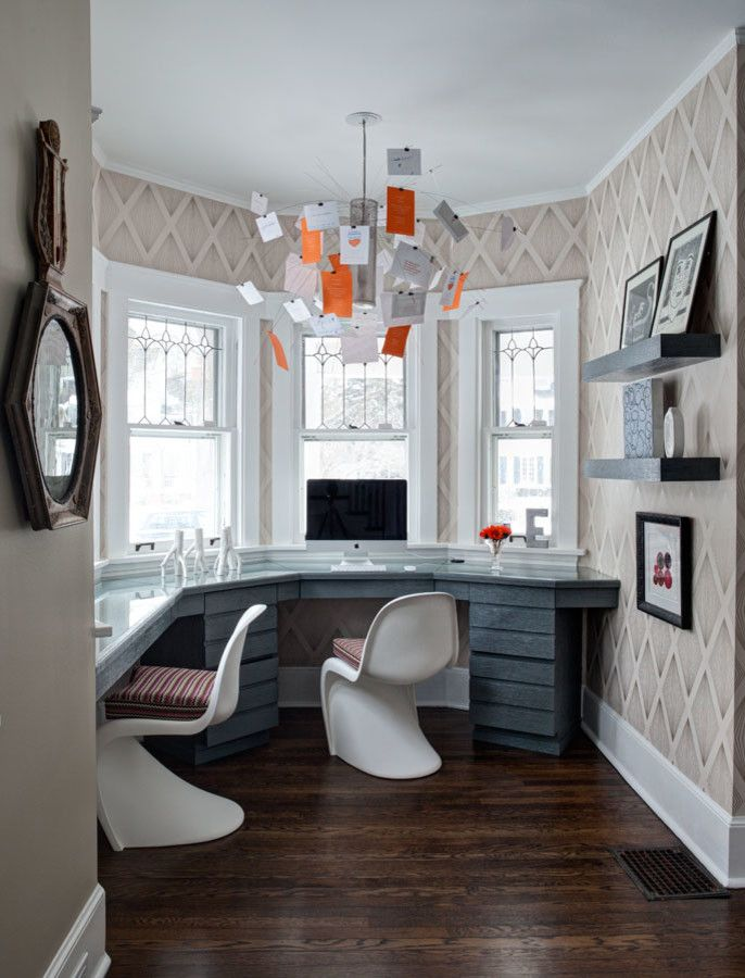 Small stylish office - Stylish Home Offices to Inspire | Interior ...