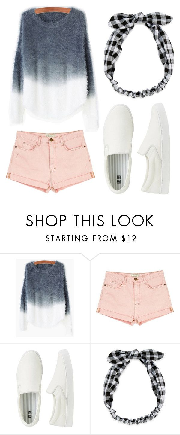 """""""Summer Sweaters """" by allislia ❤ liked on Polyvore featuring Current/Elliott, Uniqlo and Carole"""