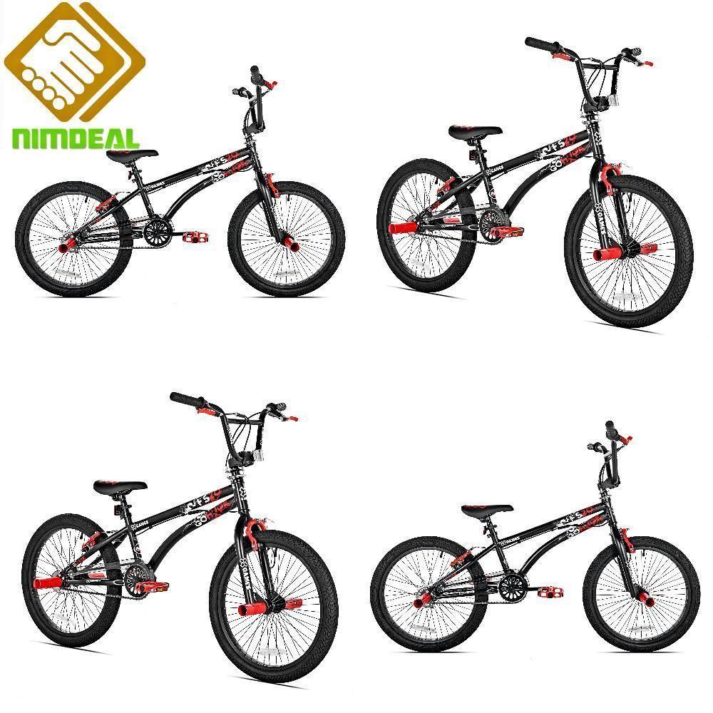 Bmx Freestyle Bike 20 In Wheels 48 Spoke Alloy Rims Front Rear