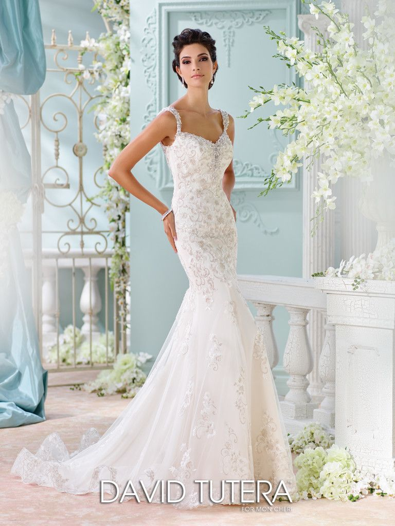 Fit and flare dress wedding  Unique Wedding Dresses Fall   Martin Thornburg  Bridal dresses