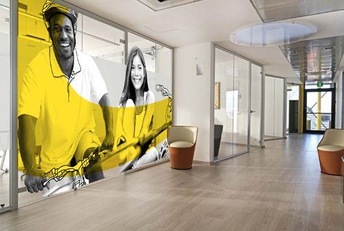 signal tique originale bureau recherche google commercial office pinterest vitrophanie. Black Bedroom Furniture Sets. Home Design Ideas