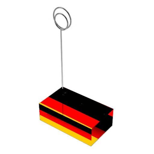 flag of Germany Table Card Holders