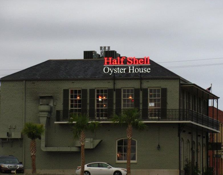 Half Shell Oyster House In Biloxi Mississippi Ya Ll I