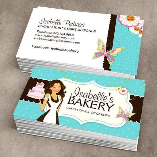 Bakery Business Card Templates Disenos De Tarjetas Tarjetas De