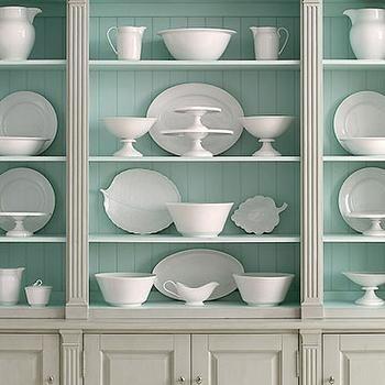 Duck Egg Blue Paint Colors, Transitional, Kitchen ...