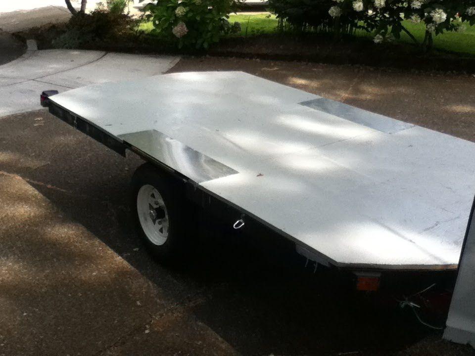 5x10 flatbed build on harbor freight trailer frame kit for 5x10 wood floor trailer