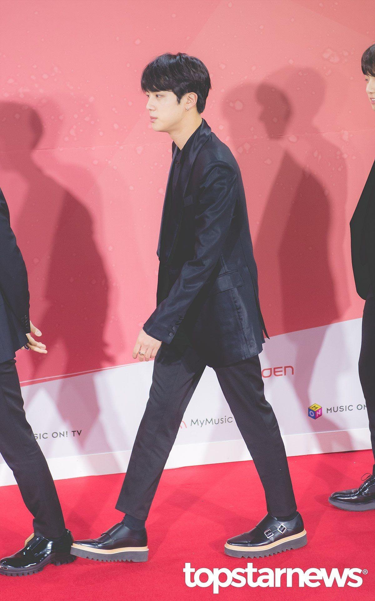 171202 Mma Red Carpet Jin Kim Seokjin Seokjin Bts Jin