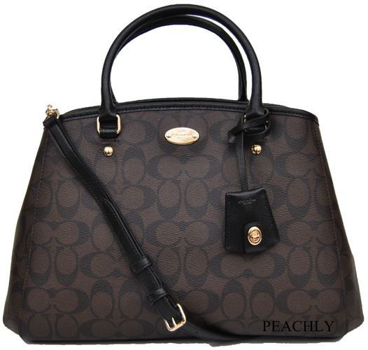 Coach Signature Small Margo Carryall Satchel . Starting at $165