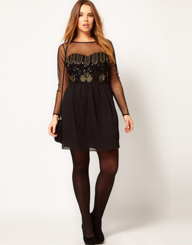 Party Dresses For Women With Curves | ... Dresses for Plus ...