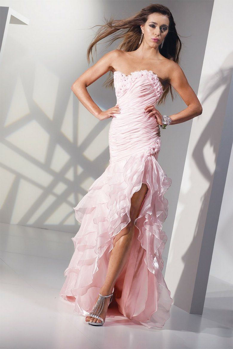 pink mermaid wedding dresses - Google Search