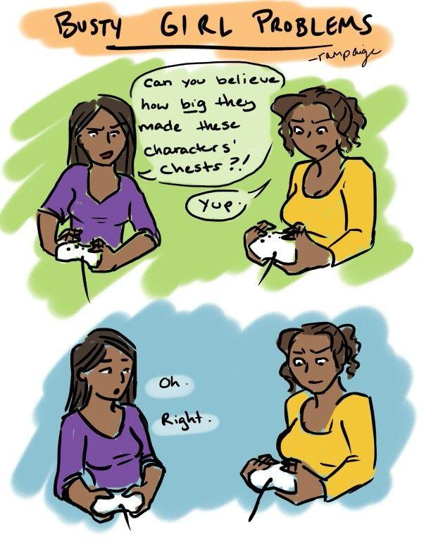 Bgp Girl Problems Women Logic Fish Games Comics Boobs Funny Life