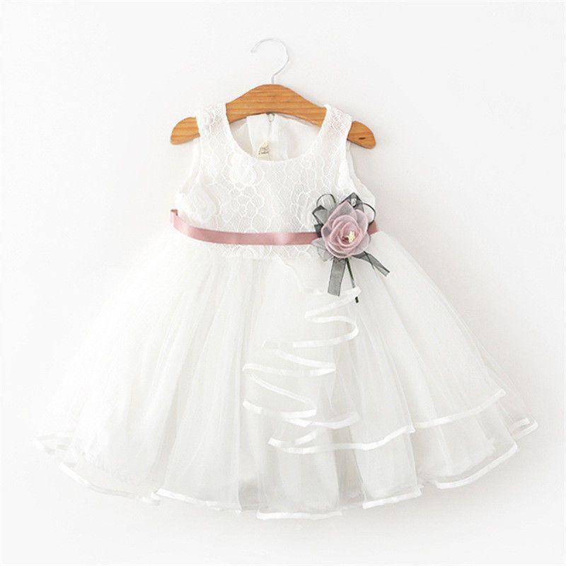 1 5t Kid Baby Girls Flower Clothing Toddler Formal