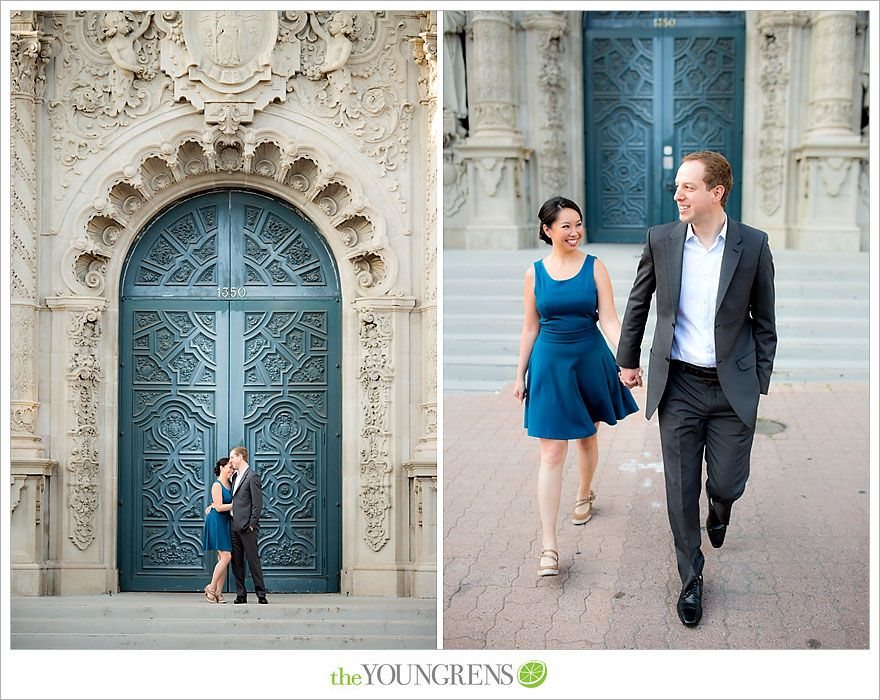 Balboa Park Engagement, Photography by The Youngrens
