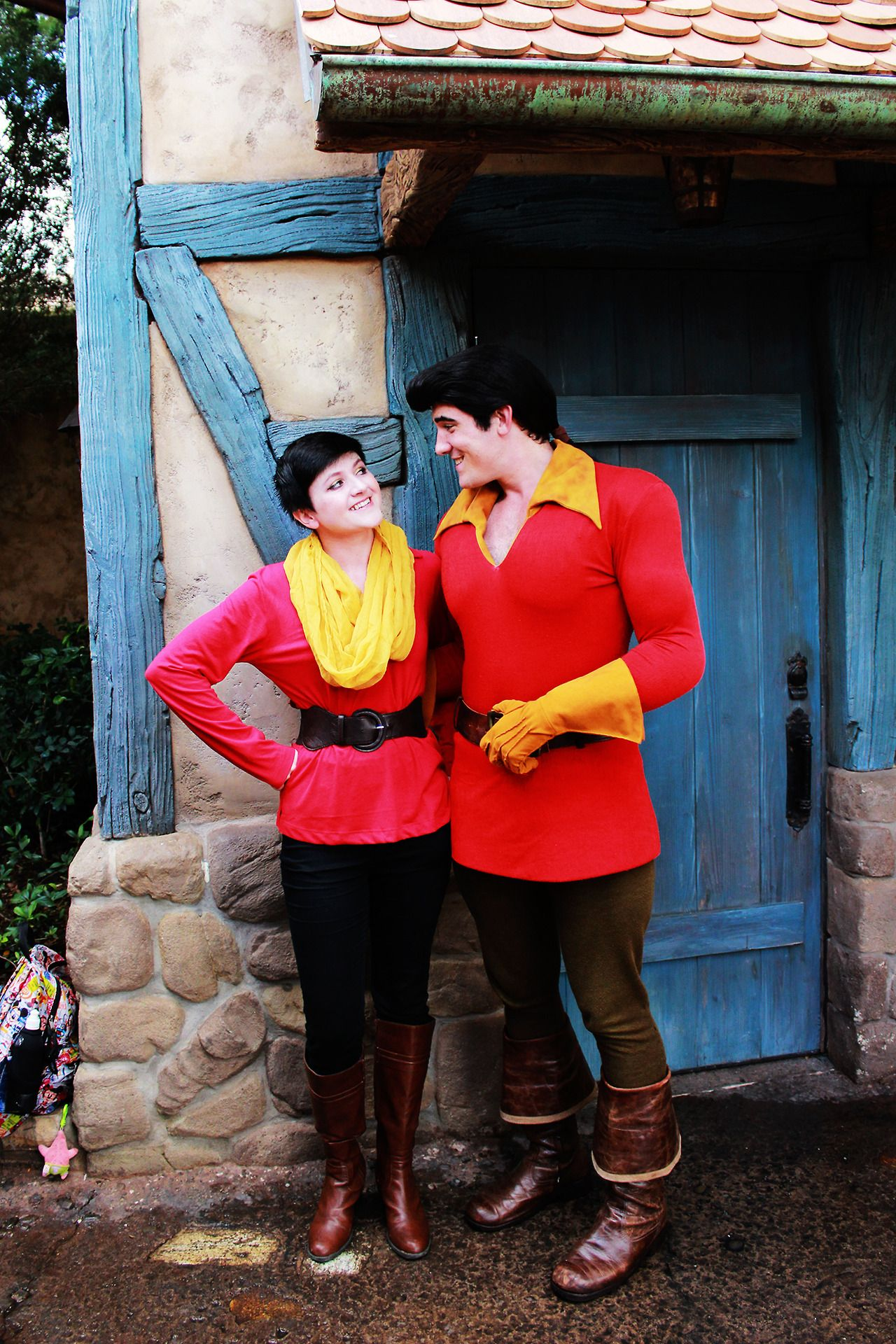 "that-one-animator: "" My what a guy, that Gaston! Here is my Disney Bound! I wore it on Dapper Day, and just had to go get pictures with him."