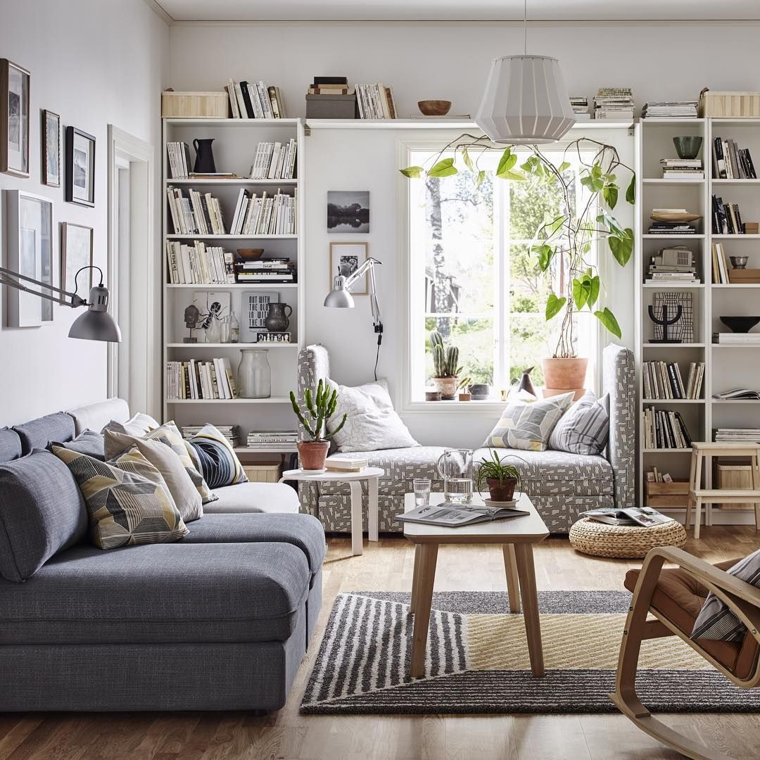 """983 mentions J'aime, 2 commentaires - IKEA FRANCE (@ikeafrance) sur Instagram: """"Un séjour comme on les aime : lumineux, zen, et qui permet de réunir tout le monde !  #IKEAFrance…"""""""