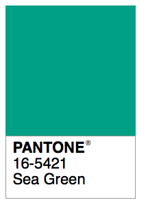 Sea Green Pantone Sea Green Color Sea Colour