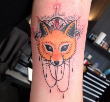 Tatuaje De Zorro En El Brazo A Animal Art Fox Tattoo Tattoos