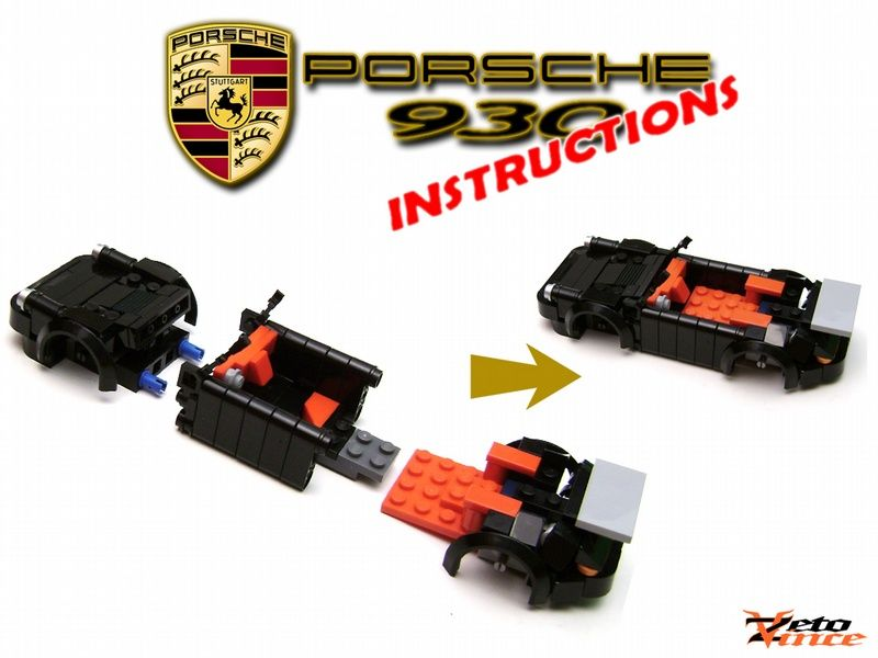 Porsche 930 Porshe Pinterest Porsche 930 Lego Creations And Lego