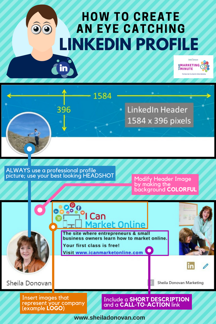Need help creating an Eye Catching LinkedIn profile? Click
