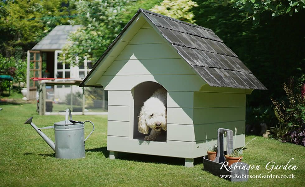 Bespoke Dog Kennels And Dog Houses Farrow And Ball Robinson Garden Dog Houses Wooden Dog Kennels Dog Kennel