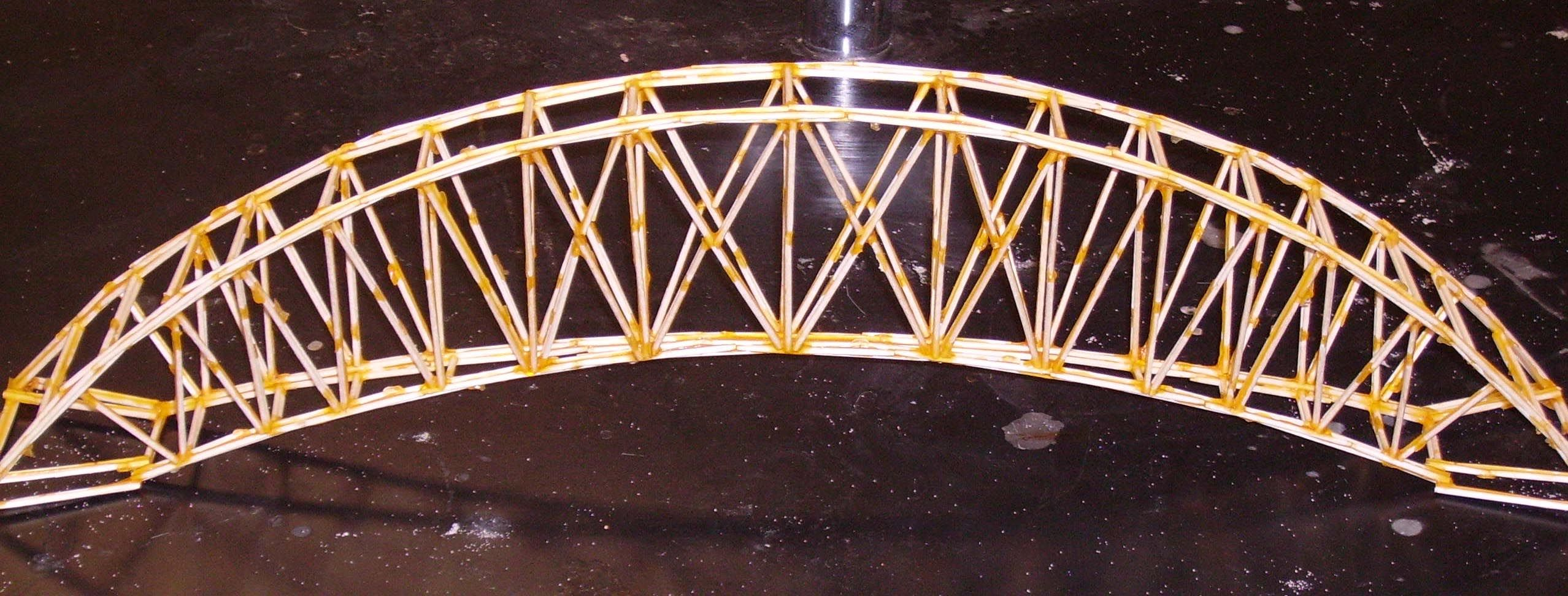Toothpick Truss Bridge Places To Visit Pinterest Bridge Stem