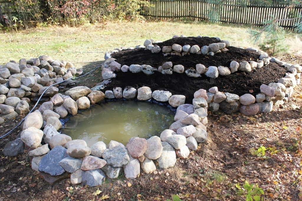 Zone 5 perennial herb spiral with pond - (plants forum at ...