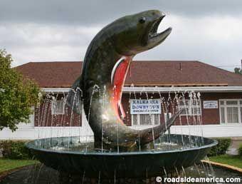 Big Trout Fountain  Kalkaska, Michigan