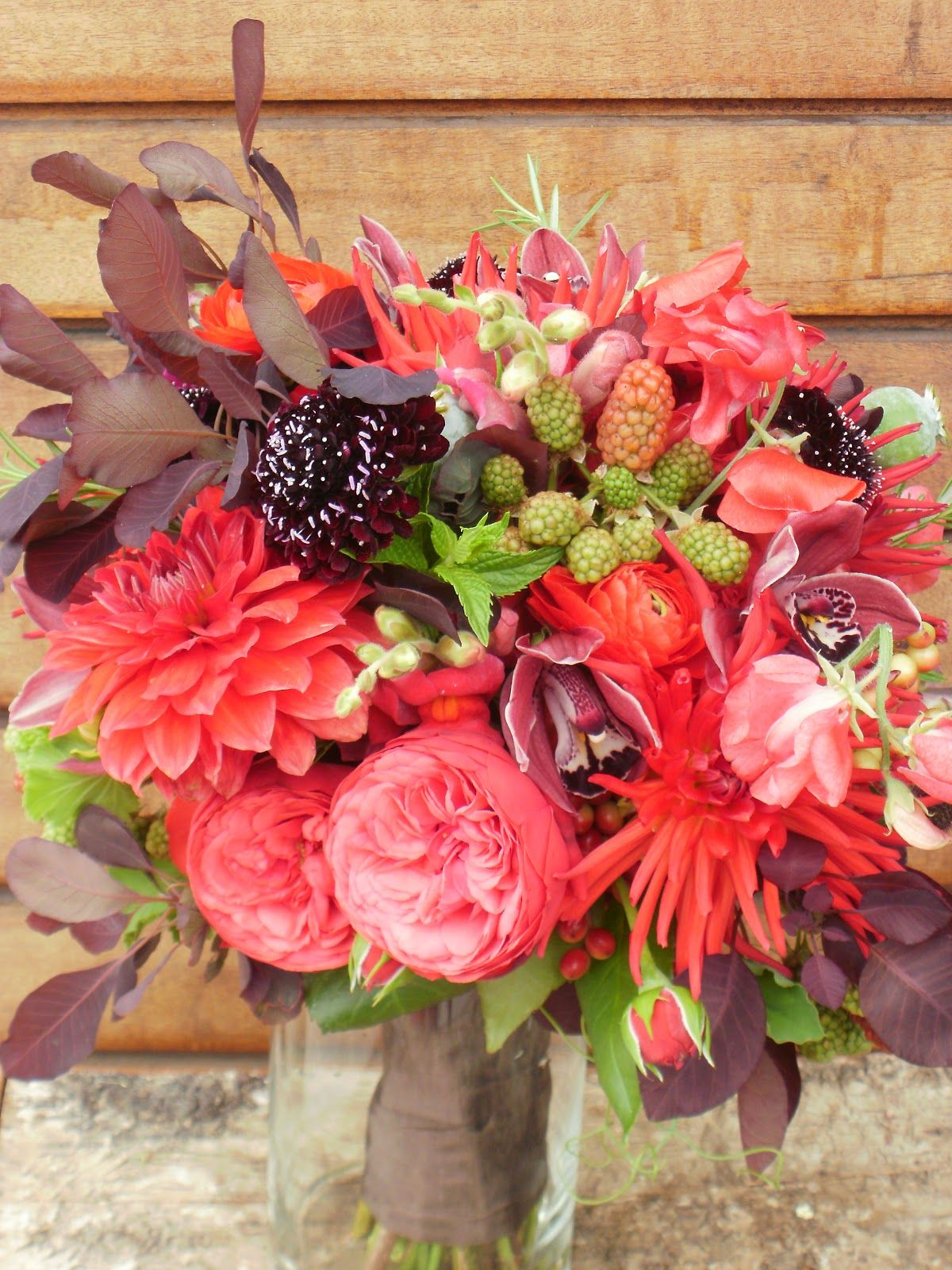 July Wedding Flowers Ferns Emerald Petals Mid Summer Deep In