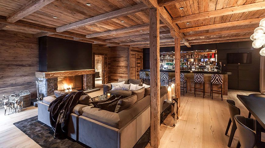 Bar fireplace lounge chalet n oberlech luxe alpine lodge bar fireplace lounge chalet n oberlech teraionfo