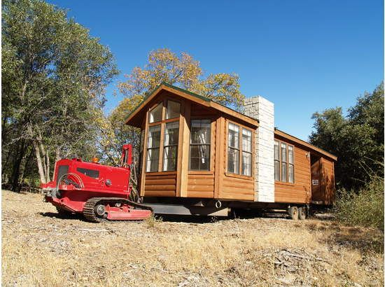 Portable log cabins 16 39 x40 39 with bedroom loft the old for Rv log cabins