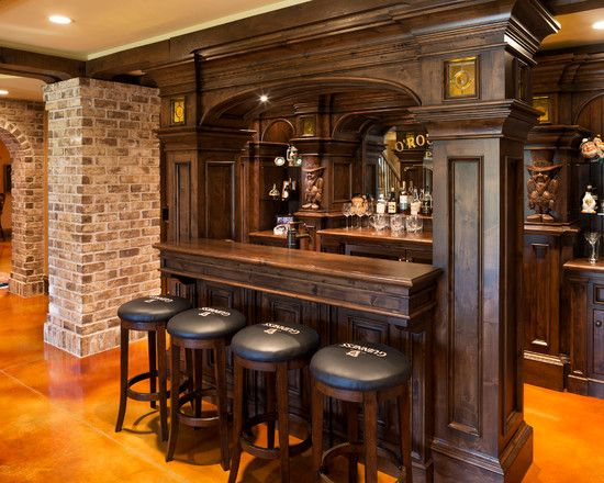 Home Bar Brick Wall More Home Bar Ideas Here Http