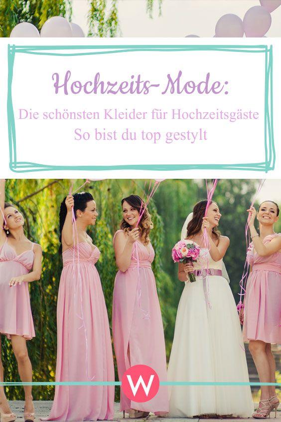 Hochzeit-Mode 2018: Die schönsten Kleider für ...