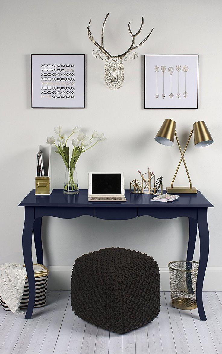 gentle modern home office. Geometric Hanging Deer Head Silver Metal Wall Art. Office DecorOffice Ideas Home Gentle Modern I
